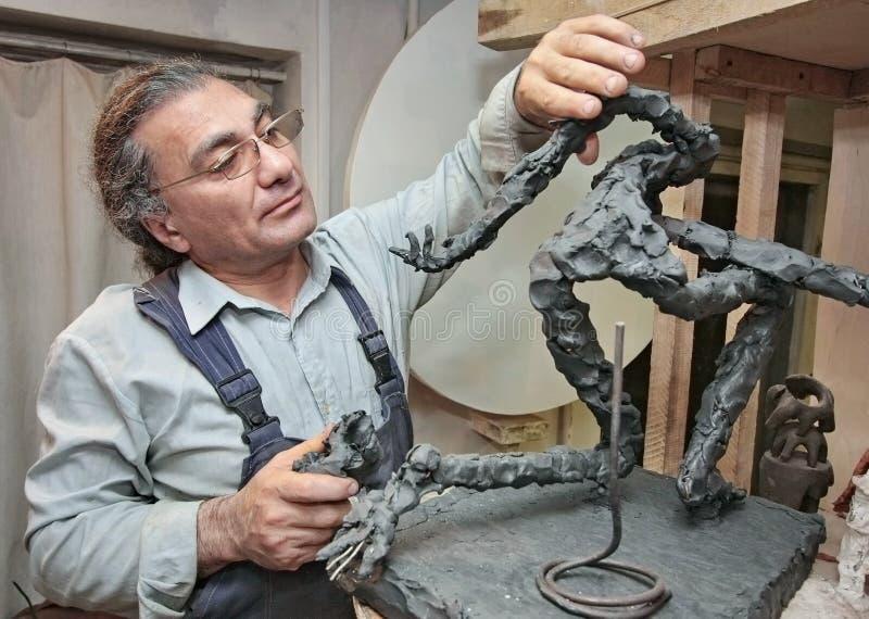 Sculpteur photos libres de droits