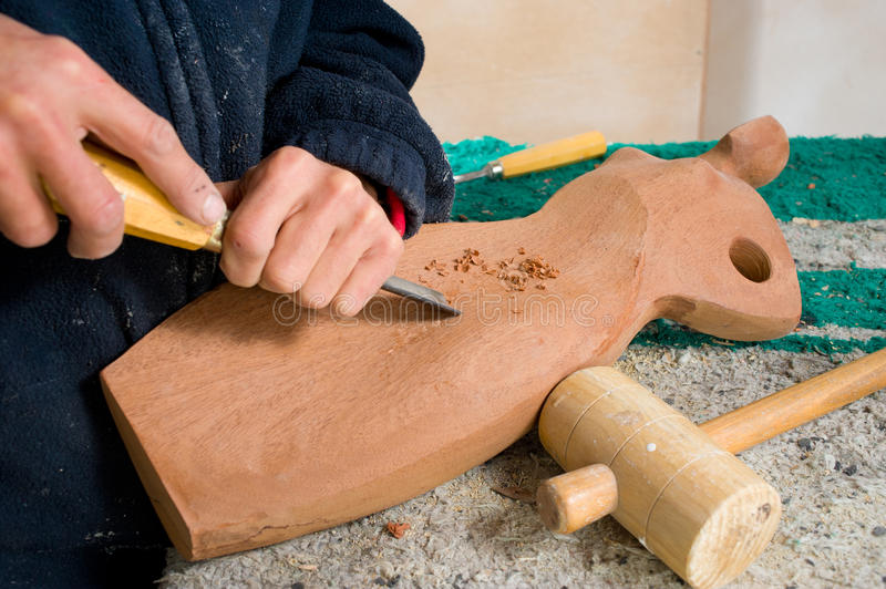 Download Sculptor stock photo. Image of craft, grind, male, timber - 18858022