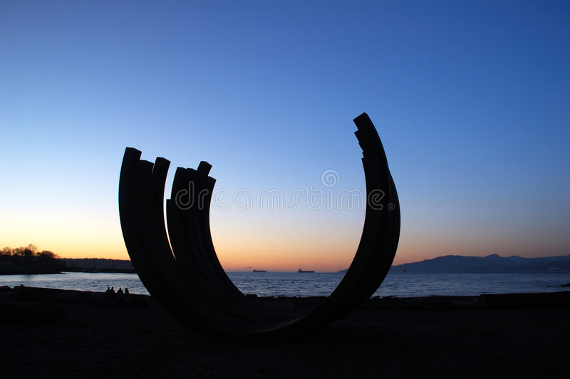 Download Sculptrue By English Bay Royalty Free Stock Photos - Image: 1702168
