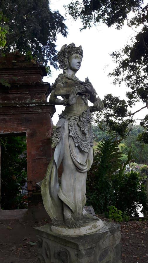 Sculptur van waterpaleis royalty-vrije stock afbeelding