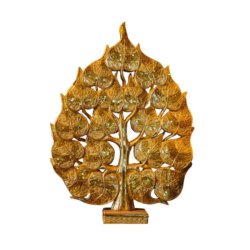 Sculptural golden lotus shape. Golden lotus shaped sculpture art Thailand stock photos