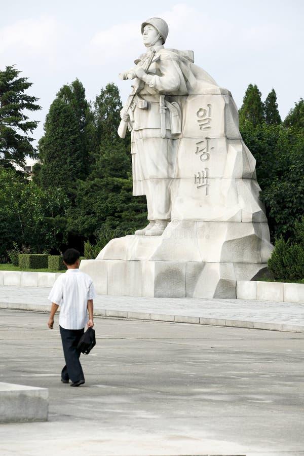 Sculpture 2011 de la Corée du Nord image libre de droits