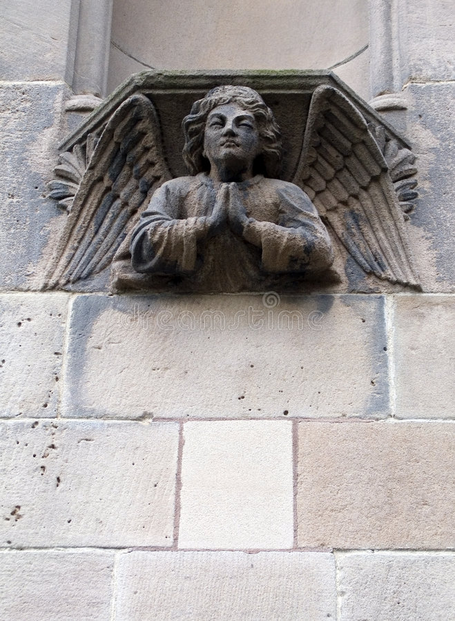 Download Sculpture of an angel stock photo. Image of memorial, europe - 503122