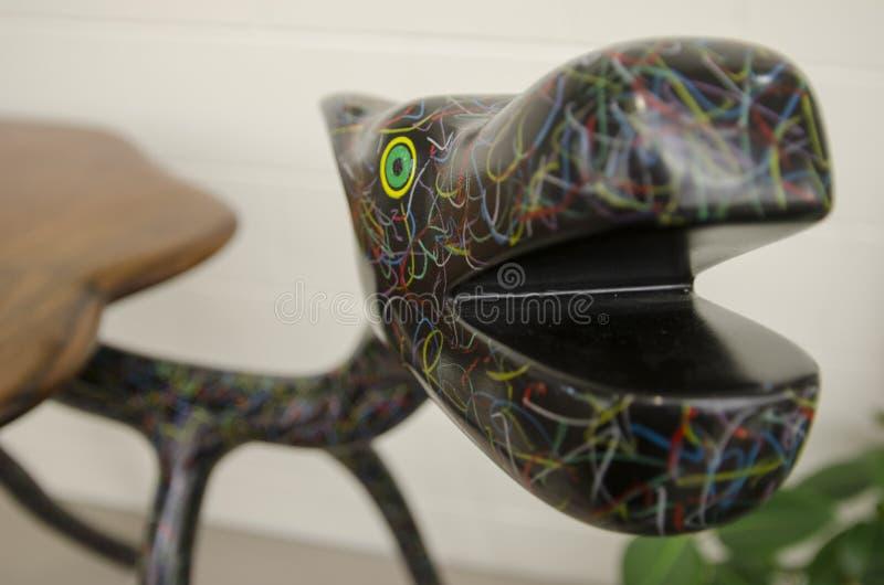 Sculpture animale abstraite en plan rapproché photo stock