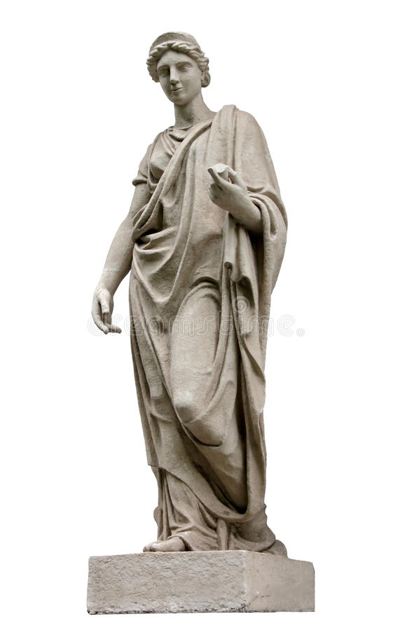 Sculpture antique image libre de droits