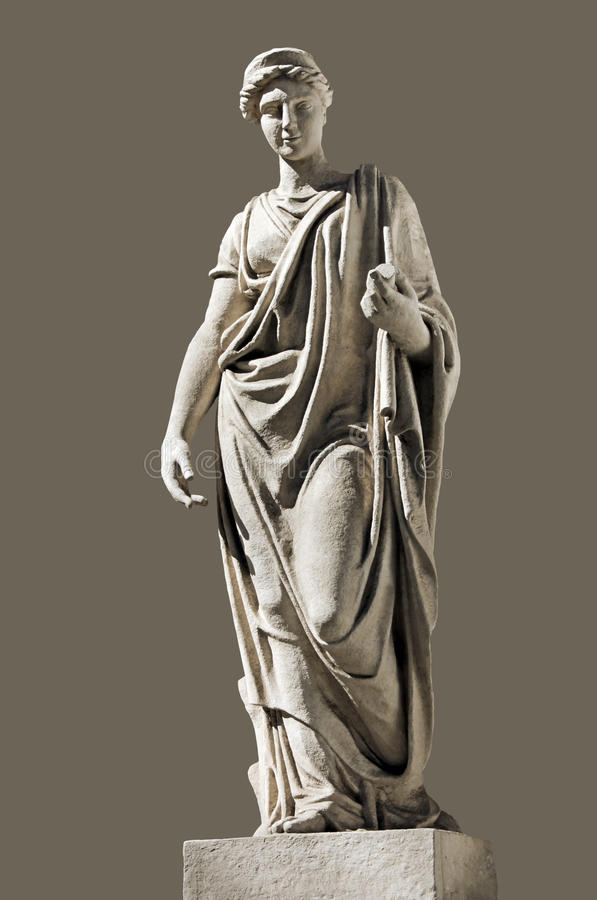 Sculpture antique en Hera image libre de droits