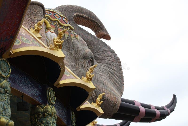 Sculpture, architecture et symboles de bouddhisme, Thaïlande photo libre de droits