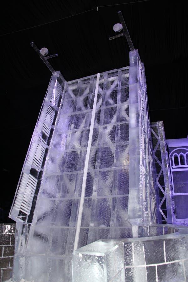 sculpture As pontes do gelo fotos de stock royalty free