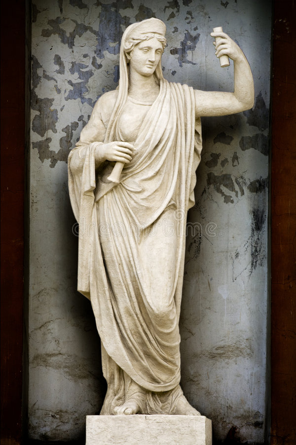 Sculpture Athene royalty free stock photos