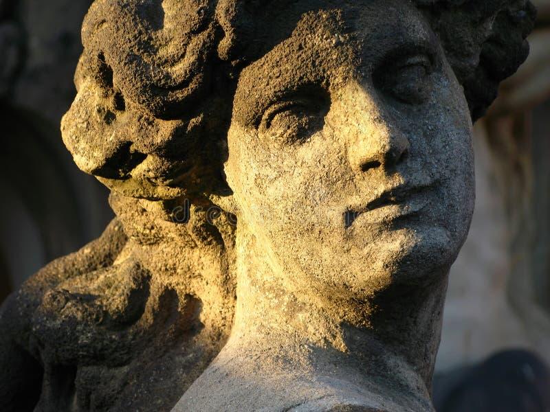 Sculpture baroque photo libre de droits
