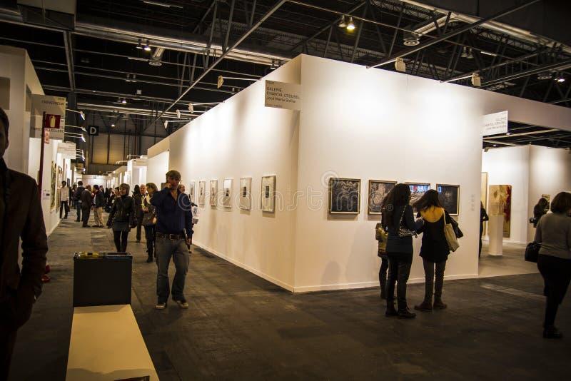 Sculpture.Begins 2014 ARCO, a arte contemporânea internacional F imagens de stock