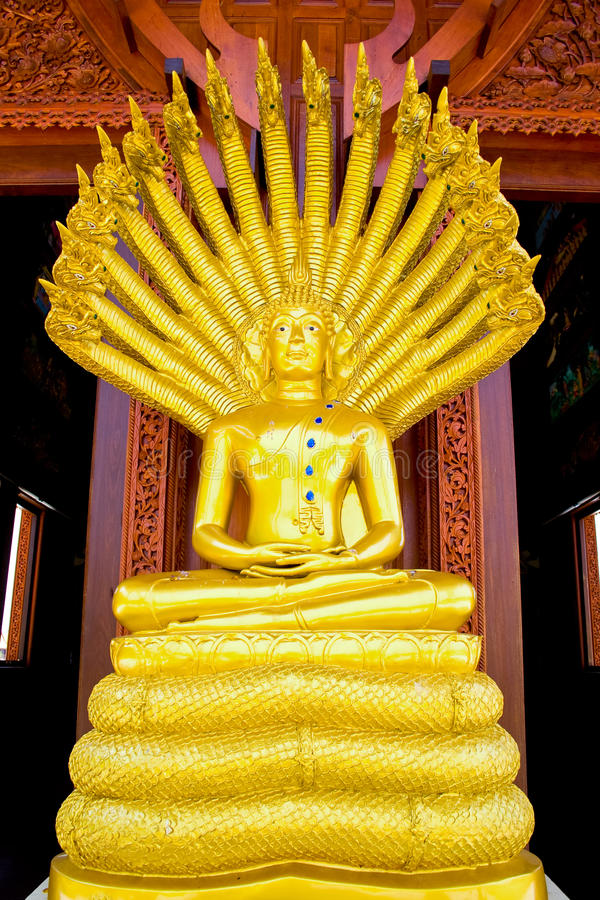 Sculpture of Buddha stock photography