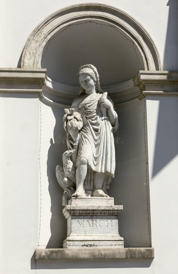 Sculpture classique photo libre de droits