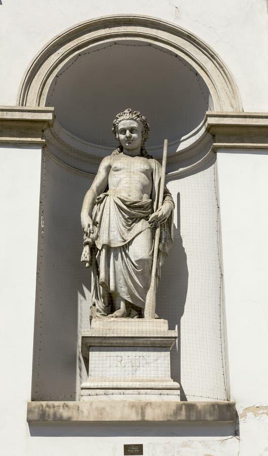 Sculpture classique de muse photo libre de droits