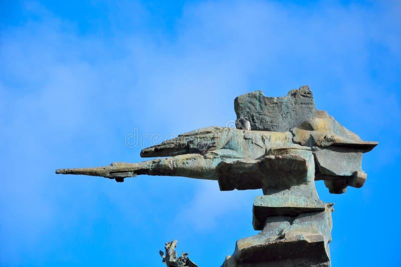 Sculpture d'une forme de vie étrangère image libre de droits