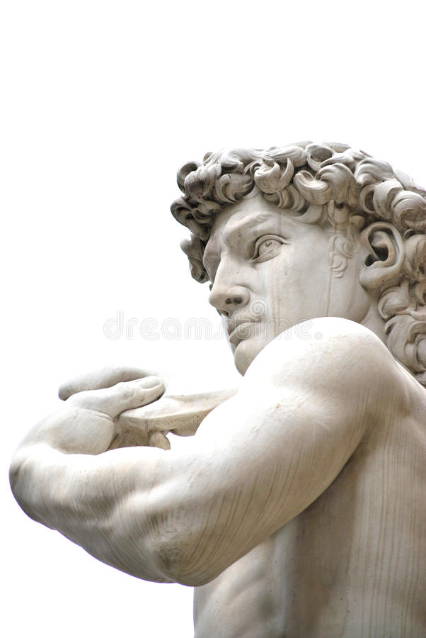 The sculpture of David royalty free stock photography