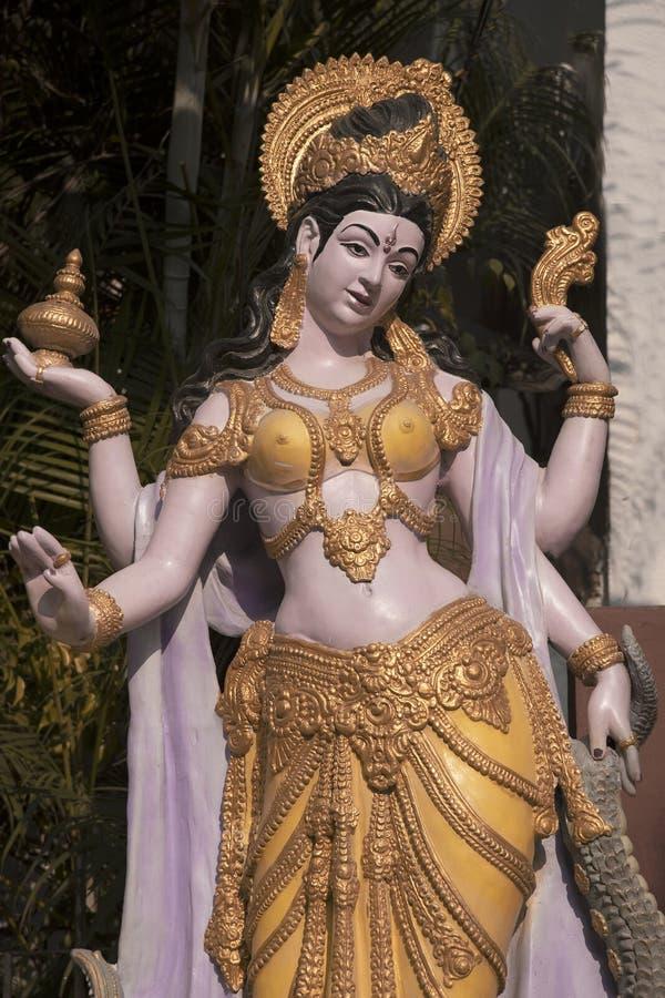 Sculpture de déesse image libre de droits