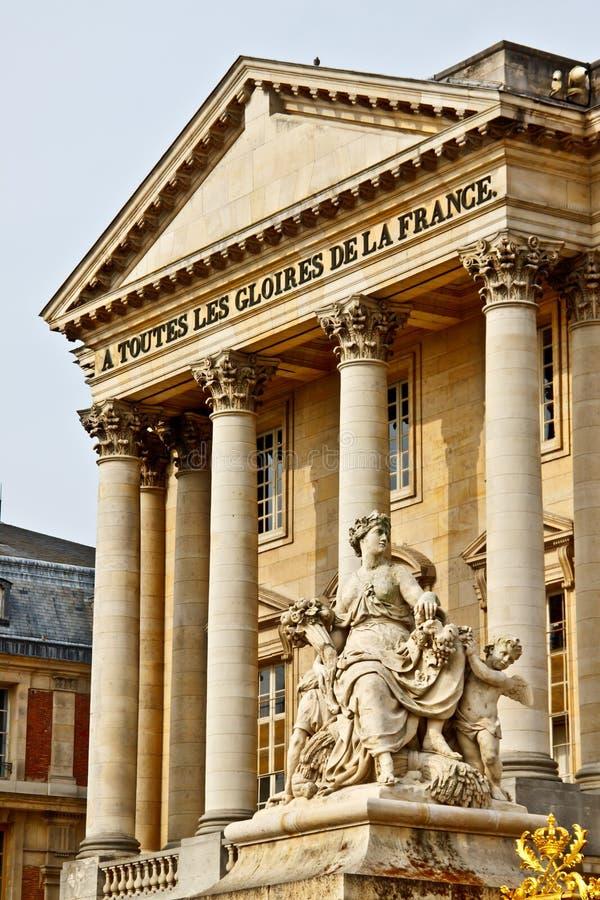 Sculpture de marbre au palais de Versailles photos stock