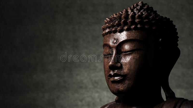 Sculpture en Bouddha images stock