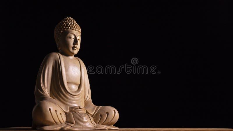 Sculpture en Bouddha image libre de droits