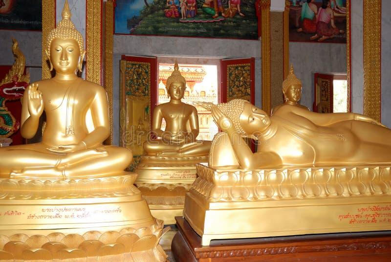 sculpture en Bouddha images libres de droits
