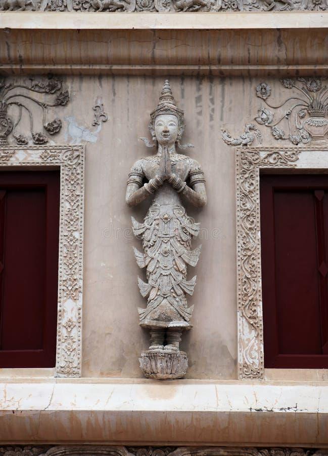 Sculpture en Budist de Chiang Mai, Thaïlande photo stock