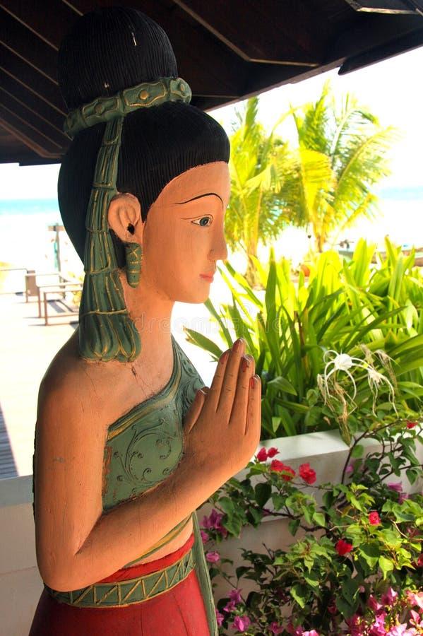 Sculpture en femme - Thaïlande photos libres de droits