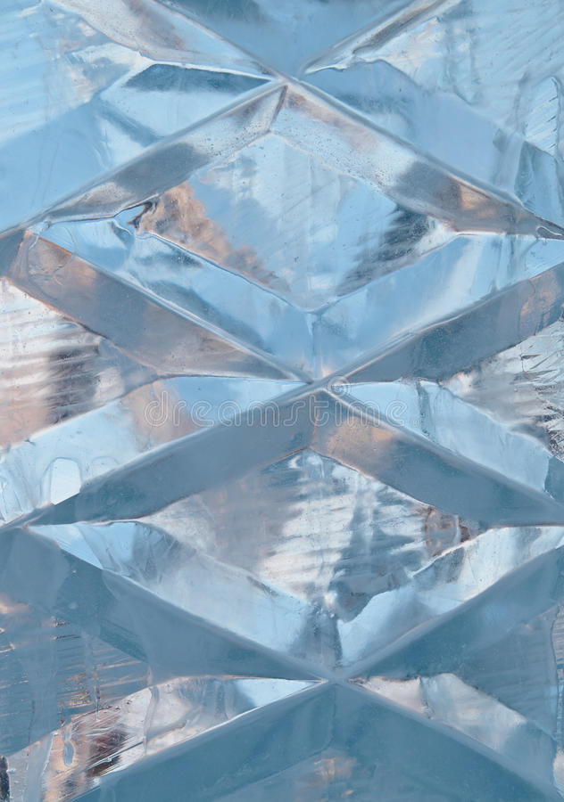 Sculpture en glace photo libre de droits