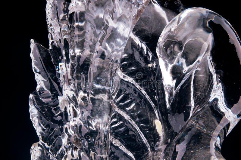 Sculpture en glace photographie stock libre de droits