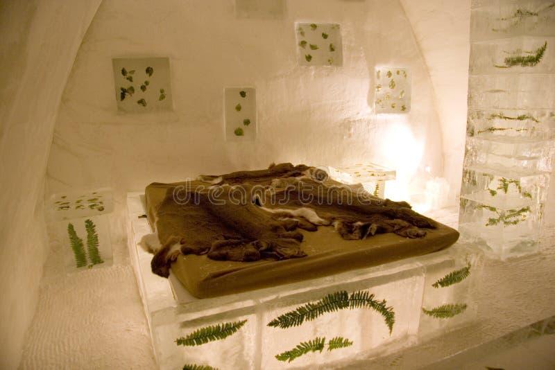 Sculpture en glace images libres de droits