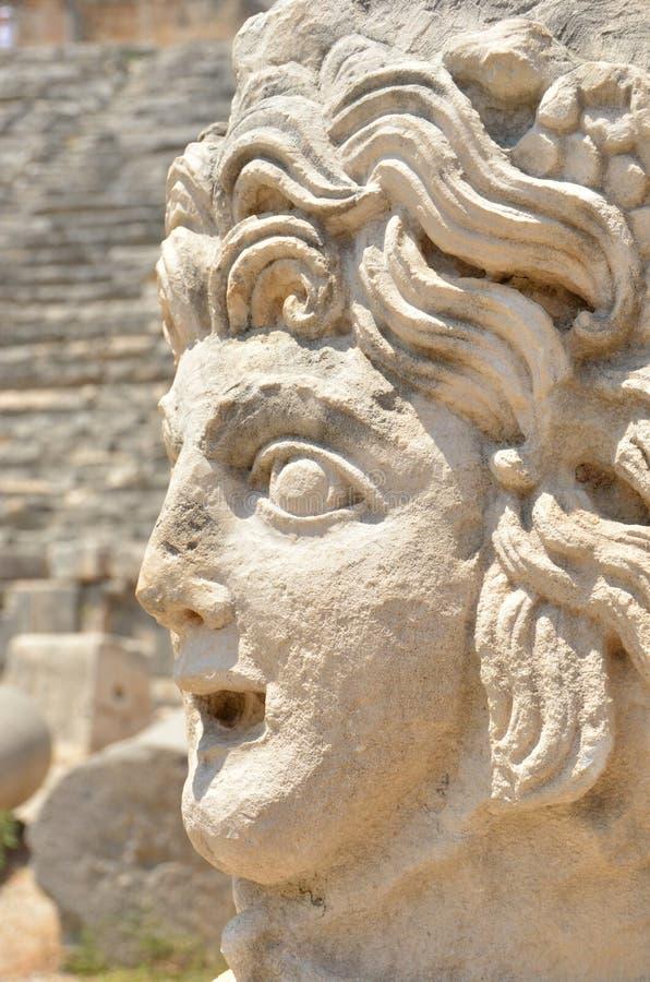 Sculpture en Grec d'Anceint photo libre de droits