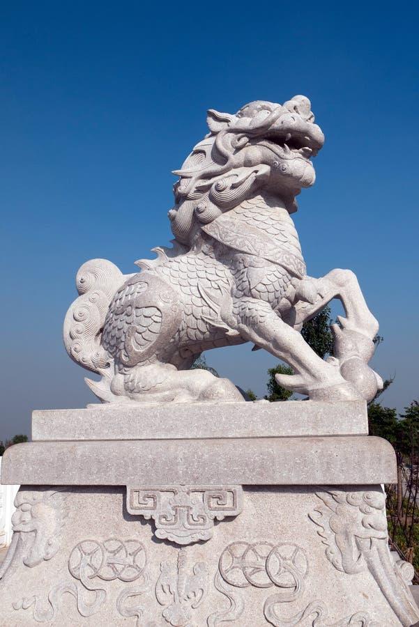 Sculpture en licorne photos libres de droits
