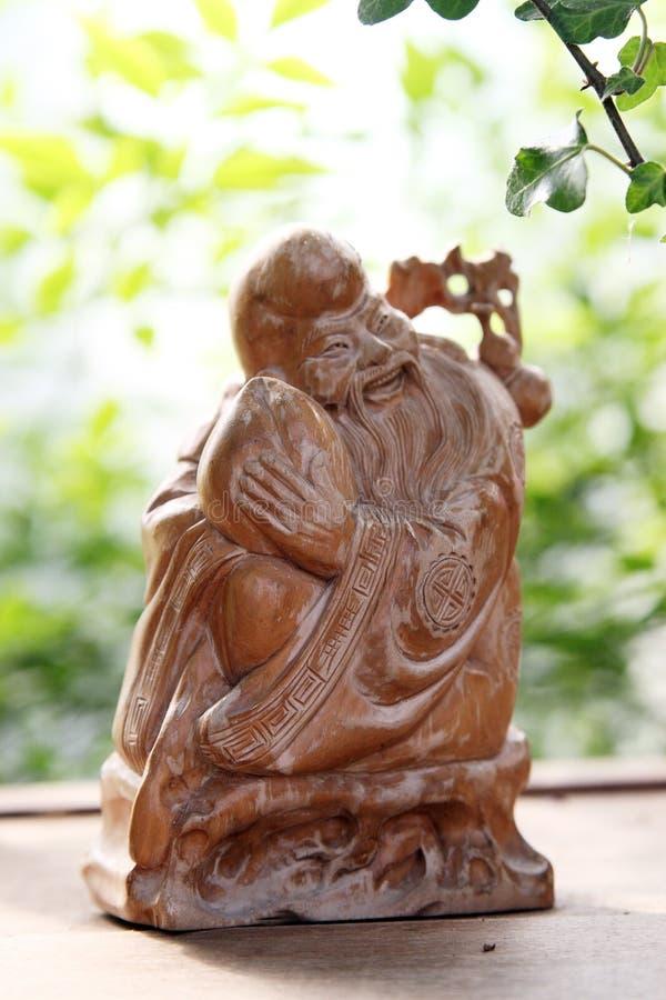 sculpture en longévité d'un dieu d'argile images libres de droits