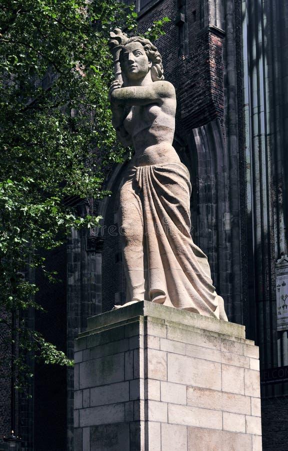 Sculpture en pierre photo libre de droits