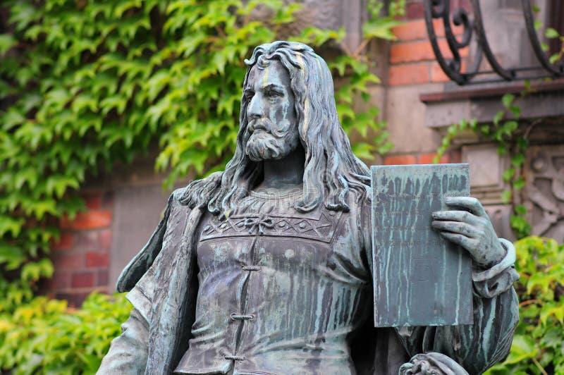 Sculpture en rer de ¼ d'Albrecht Durer DÃ photo stock