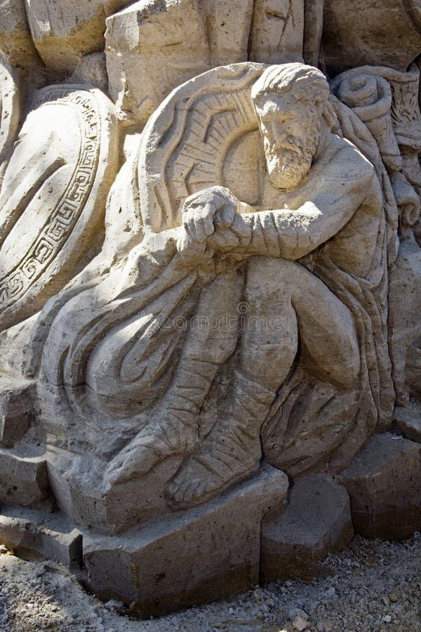Sculpture en sable photographie stock libre de droits