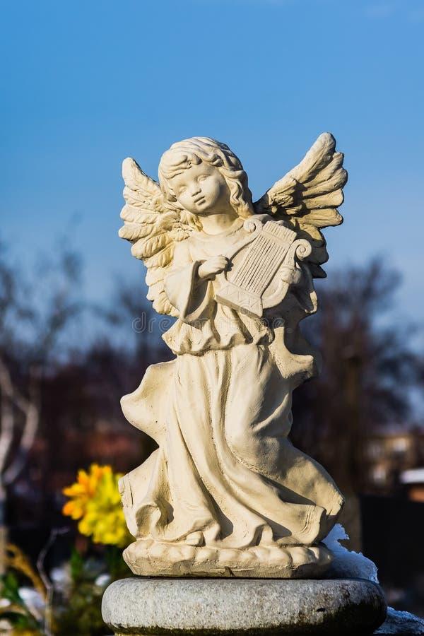 Sculpture en tombe images stock