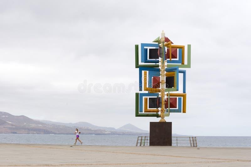 Sculpture en vent photo stock