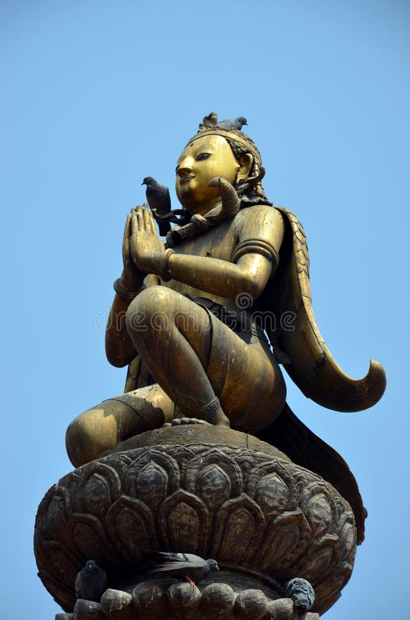 Sculpture of Garuda royalty free stock photo