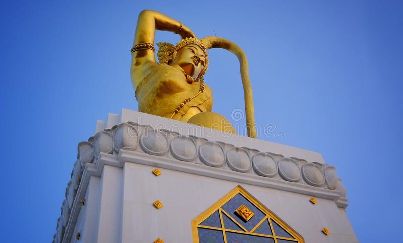 Sculpture The goddess of the land. royalty free stock photos