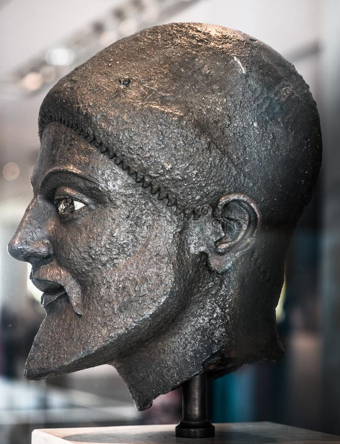 Sculpture, Head, Ancient History, Temple royalty free stock photos