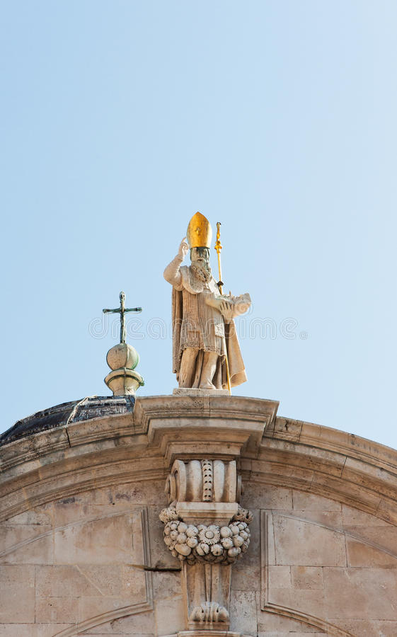 Download Sculpture of a holy man stock photo. Image of sainted - 23486226