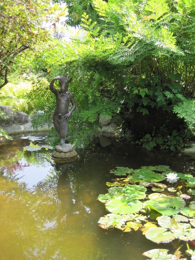 Heller garden stock photo