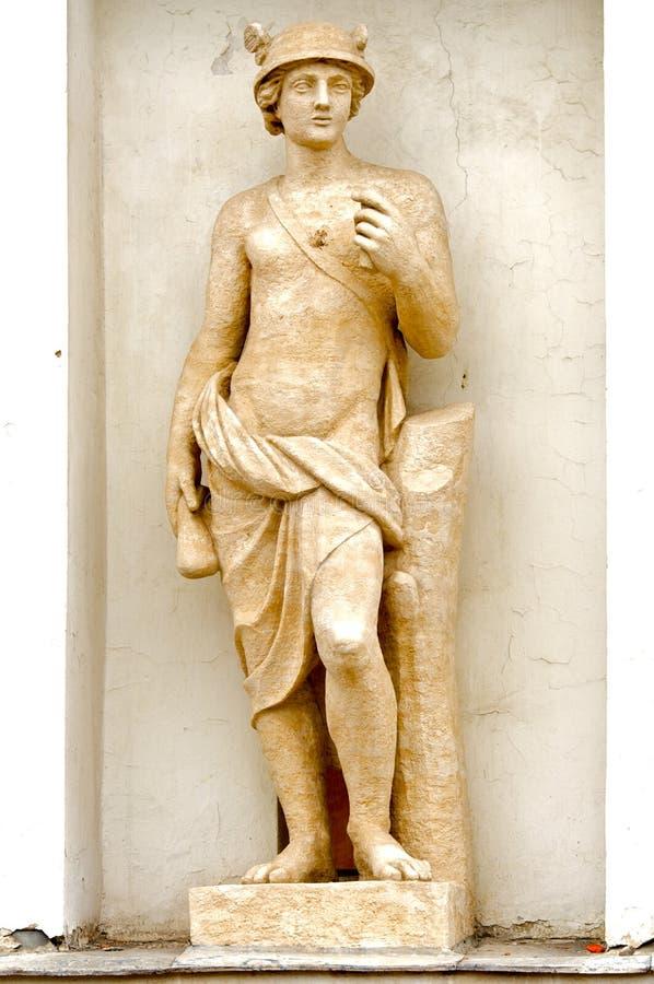 Sculpture Mercury royalty free stock photography
