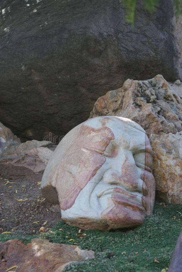 Nebuchadnezzar`s Dream at Gilgal Sculpture Garden. This sculpture is named Nebuchadnezzar`s Dream, and is found at Gilgal Sculpture Garden in Salt Lake City royalty free stock photos