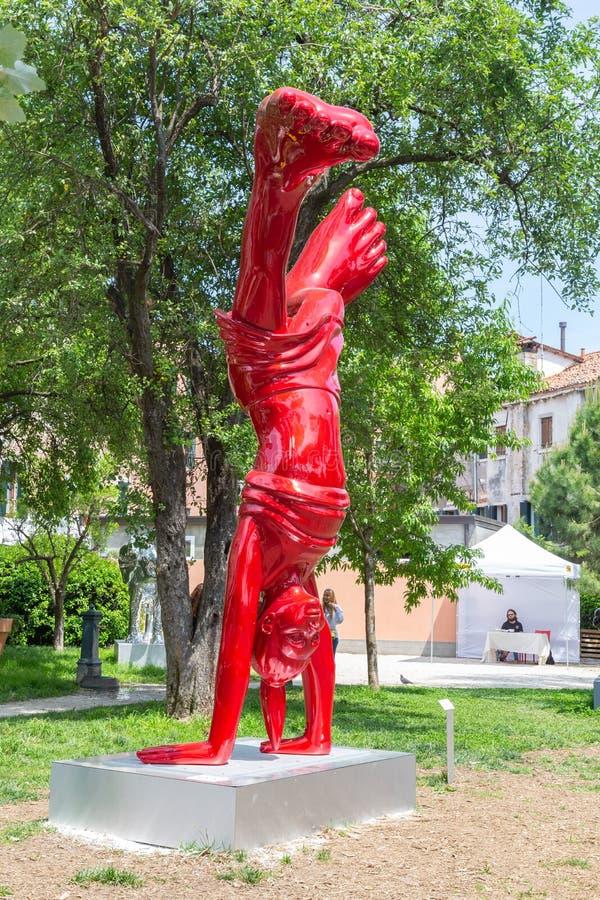 Sculpture Nena Biennale Venice 2019 photo libre de droits