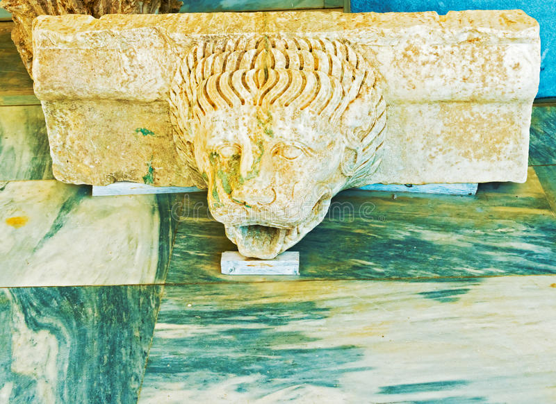 Sculpture in Olympia, Greece. royalty free stock photo