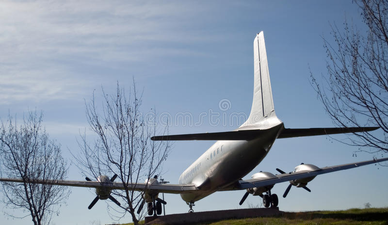 Download Sculpture Of A Plane Royalty Free Stock Images - Image: 25815069