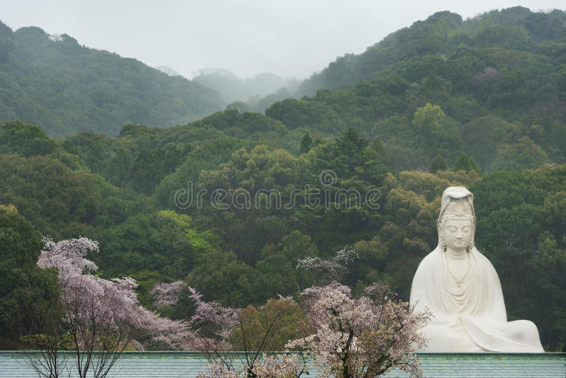 Sculpture of quanyin royalty free stock image