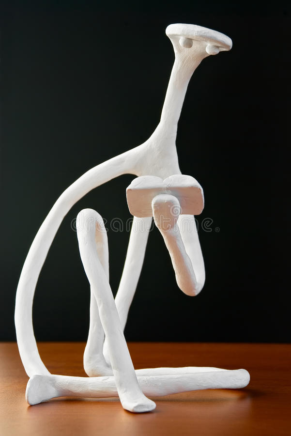 Download Sculpture Of Reading Person. Stock Photos - Image: 12944973